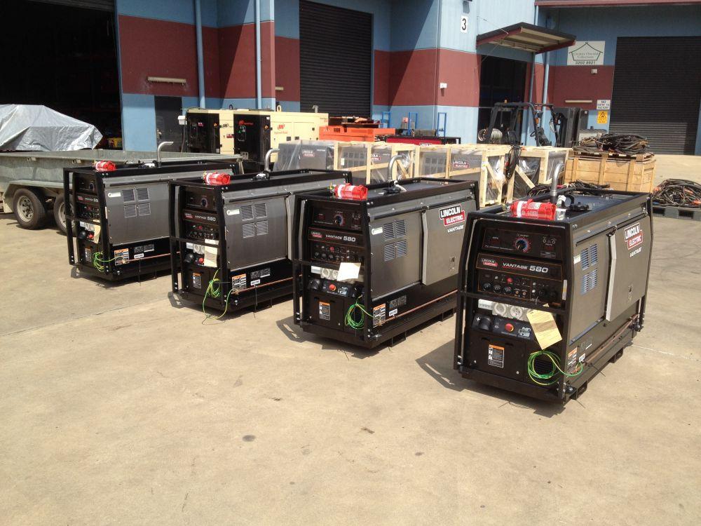 vantage 580 diesel driven generator welder. Black Bedroom Furniture Sets. Home Design Ideas